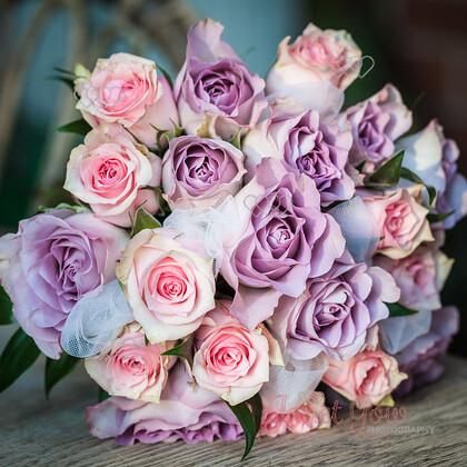 Bride-Bouquet-0001   Brides pink rose bouquet   Keywords: wedding bride bridal bouquet pink rose
