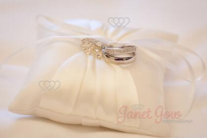 Wedding-Rings-0003   Wedding rings on ivory cushion   Keywords: wedding rings ivory cushion
